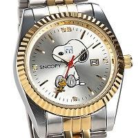 ◎内容:なんとスヌーピーの表情が曜日毎に変化する腕時計。文字盤には天然ダイヤ5石・裏蓋にはシリアルナ...