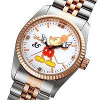 ◎内容:ミッキー85回目の誕生日を記念した腕時計。明るい感じのピンクコンビ色。 ミッキー85周年を記...