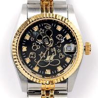 ◎内容:世界で2000本 男女兼用 ミッキー時計ブラック。 かわいい大きくて丸い耳、豊かな表情としぐ...