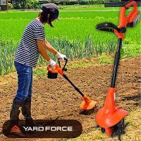 ◎内容:充電式コードレス30分連続稼働。女性でも簡単に畑の土を耕せる耕運機。 今、家庭菜園がブーム。...