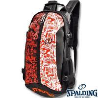 ◎内容:SPALDING上位モデル。バスケ柄の大容量バスケットボール用バッグ ブラックオレンジ。機能...
