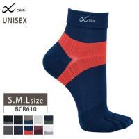 CWX CW-X ユニセックス 男女兼用 5本指ソックス(ショートタイプ) ワコール BCR610