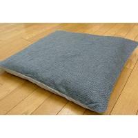 ●カジュアルな座布団カバーです。 ・綿素材の柔らかな肌ざわりです。 ・お手持ちの座布団にかぶせるだけ...