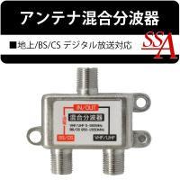 設置・配線に便利なコンパクト設計。 アンテナの使用状況などに合わせて、混合器、分波器として接続可能で...