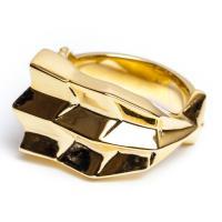 モデル名:EBI RING(エビ) カラー:GOLD  商品説明: 寿司のネタの海老をモチーフにした...