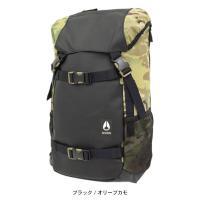 ニクソン nixon リュック ランドロック 3 バックパック ブラック/オリーブカモ(Landlock III Backpack Black/Olive Camo NC28132865)