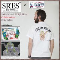 エスアールエス SRES×SOW ハロー マイアミ PT シャツ 半袖 コラボ(SRS×SOW Hello Miami PT S/S Shirt Collaboration)