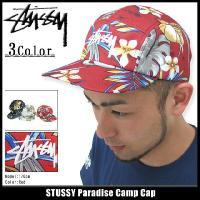 ステューシー STUSSY キャップ Paradise Camp キャップ(stussy cap キャップ メンズ・男性用 帽子 132535)