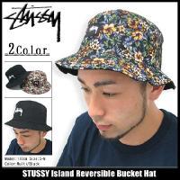 ステューシー STUSSY Island Reversible Bucket ハット(stussy hat Stussy HAT ハット メンズ・男性用 帽子 132557)