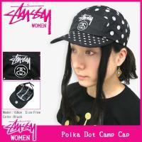ステューシー STUSSY ウーマンズ Polka Dot Camp キャップ(stussy cap キャップ ガールズ レディース WOMENS 女性用 232029)