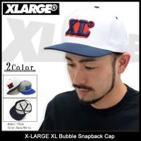 エクストララージ X-LARGE キャップ メンズ XL バブル スナップバックキャップ(x-large XL Bubble Snapback Cap 帽子 M16B9101)