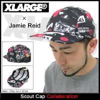 エクストララージ X-LARGE×ジェイミー リード スカウト キャップ コラボ(x-large×Jamie Reid Scout Cap キャップ メンズ M7D13236)