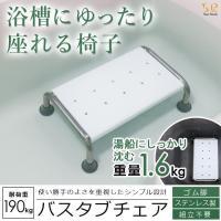バスタブチェア お風呂用イス 浴槽内椅子 浴槽内チェアー 入浴補助 介護用 踏み台 ステップ 半身浴 浴槽内 浮かない ゴム足 完成品 Sunruck SR-SBC503