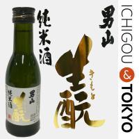 日本酒 純米 男山 生もと純米酒 180ml