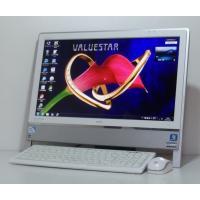 Windows7認証 フル装備 超豪華 お洒落な一体型 NEC PC-VN370FS6B  20イン...
