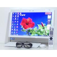 送料無料 Windows7 お洒落な一体型 富士通 ESPRIMO FH58/DM 20インチワイド...