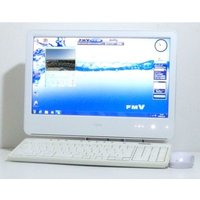 Windows7 かわいい一体型 富士通 F/A50 16インチワイド Core2 Duo 2.1G...