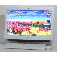 Windows7 お洒落な一体型 富士通 ESPRIMO EH30/CT(FMVE30CTV)  2...