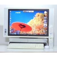 Windows7 お洒落な一体型 富士通 FMV-LX/70X 20インチワイド液晶 Core2 D...