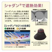 UVカット率99%  遮熱-3℃ 紫外線対策 遮熱エレガントつば広帽子