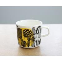 マリメッコ シイルトラプータルハ コーヒーカップ 200ml イエロー marimekko SIIRTOLAPUUTARHA