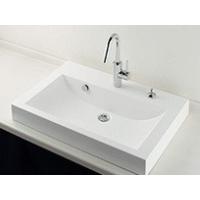 カクダイ 493-070-750H 角型洗面器  ≪取寄≫洗練されたデザインが人気の人工大理石製洗面...