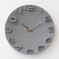 壁掛け時計 おしゃれ デジタル 静音 北欧 シンプル 大きい 35CM 大型 静音 時計 壁掛け時計 見やすい インテリア ウォールクロック お洒落 装飾 乾電池 非電波