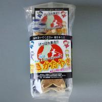 伊賀の新しい名物「変身かたやき」 手裏剣の形で福島のドライフルーツをのせたかたやきです。 このかたや...