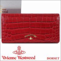 ヴィヴィアンウエストウッド フラップ長財布  2016年秋冬新作「DORSET」シリーズの長財布です...
