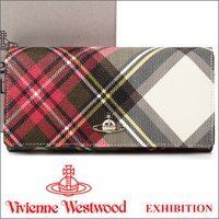 ヴィヴィアンウエストウッドの中で一番人気のエキシビジョン柄で一番使いやすい形のお財布です。毎回、楽天...