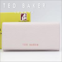華やかなデザインが多いイギリス発のテッドベーカー。オーソドックスなフラップタイプの長財布ですが、スム...