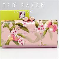 宝石のようなピンクゴールドの留め金が人気のテッドベーカー。イギリス発のブランドです。花や鳥が得意なテ...
