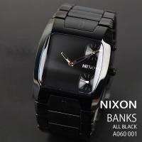 ニクソン 時計 NIXON 腕時計 THE BANKS バンクス A060-001 ブラック アナロ...