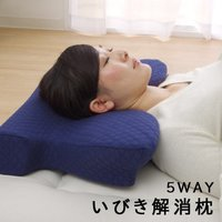 ●理想の寝姿勢をつくり、いびきなど睡眠時の悩みを解消する枕 ・頸椎をサポートする形。 ・身体に合わせ...