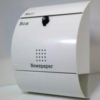 お洒落なモダンデザイン郵便ポスト:お蔭様で年間販売1万個を達成♪  【サイズ】(最大部)巾350x高...