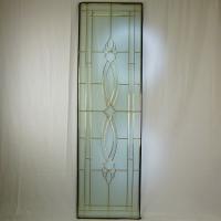 ◇ステンドグラス1625x480mmデザインパネル材料雑貨窓ドア壁美しいステンドガラスsgl07◇ ...