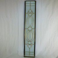 ◇ステンドグラス913x177mmデザインパネル材料雑貨窓ドア壁美しいステンドガラスsgrss02◇...