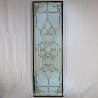 ◇ステンドグラス 927x289mm デザイン 三層 パネル 材料 雑貨 窓 ドア 壁 美しいステン...