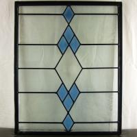 ◇ステンドグラス500x400mmデザインパネル材料雑貨窓ドア壁美しいステンドガラスsgsm401◇...