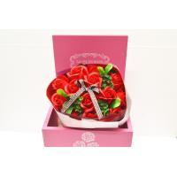 シャボンフラワー ブーケ 赤 レッド ギフト プレゼント 誕生日 贈り物 御祝 送料無料