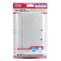【送料無料】NINTENDO new ニンテンドー 3DSLL PCセパレートカバー ラメクリア / クリア / クリアブラック 【あすちゃく】