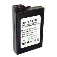 プレイステーション ポータブル (PSP-2000/3000用) 互換バッテリーパック  model:PSP-S110