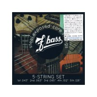 F-bass Stainless Steel Exposed-Core Strings [5st]