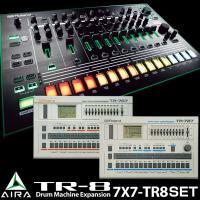 AIRAシリーズ「TR-8」7とTR-8ドラムマシン拡張サウンド「7x7-TR8」のセット。  ※本...