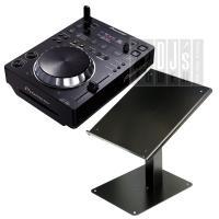 『Pioneerの人気CDJプレイヤー CDJ-350とKIKUTANI DJ-CDスタンドを組み合...