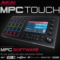 MPC TOUCHは、先進的なタッチスクリーンのワークフローを追加しながら、伝統のMPCの機能と感触...