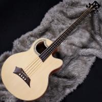 驚きの価格!Warwick(ワーウィック)流アコースティック・ベース、デラックス4弦フレットライン入...