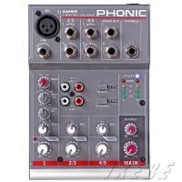 1マイク、2ステレオチャンネルの合計5CHのコンパクトなアナログミキサーです。ライブで使用する音源を...