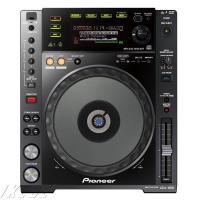 ファイルミュージック再生を得意とするパフォーマンス用DJプレイヤーCDJ-850のブラックカラーモデ...