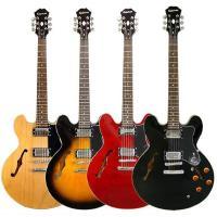 〜 エピフォン・エレキギター ドット〜  ギブソンES-335のスタイルを受け継いだトラッドな王道セ...